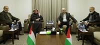 Ambassador Al Emadi Meets Hamas Leader, Announces Relief Projects for Residents of Gaza