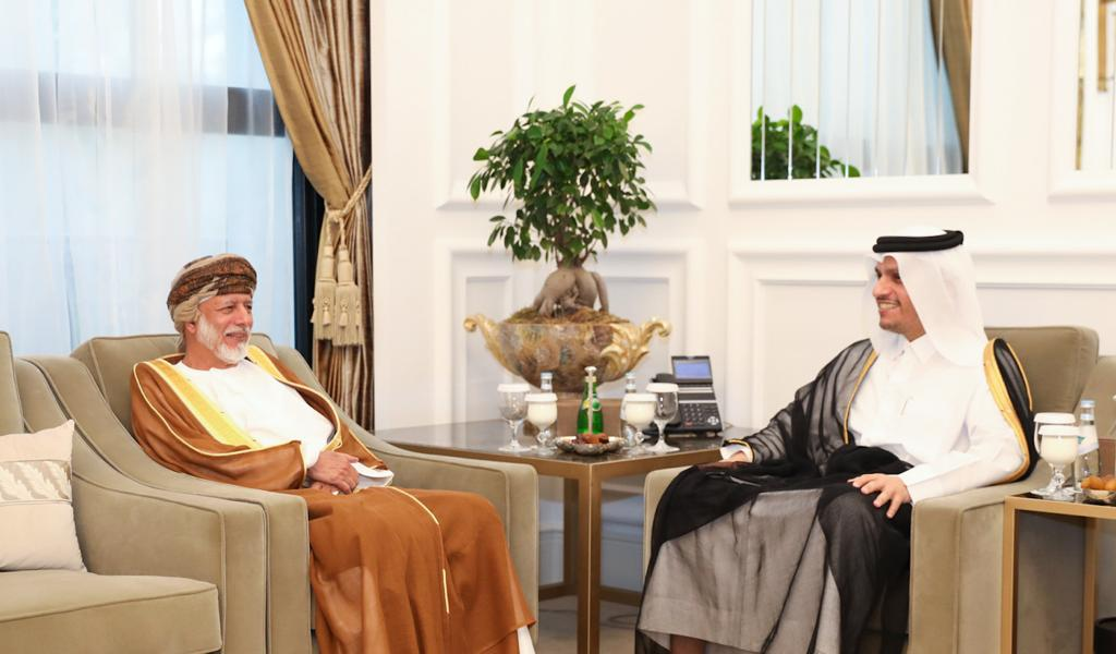 Deputy Prime Minister and Minister of Foreign Affairs Meets Oman's Minister Responsible for Foreign Affairs