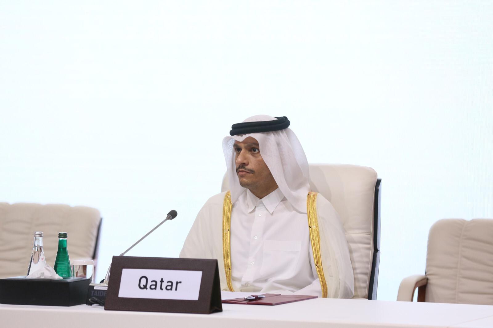 نائب رئيس مجلس الوزراء وزير الخارجية: مفاوضات الدوحة تسعى للتوصل إلى حل يحقق السلام للشعب الأفغاني ويلبي طموحاته