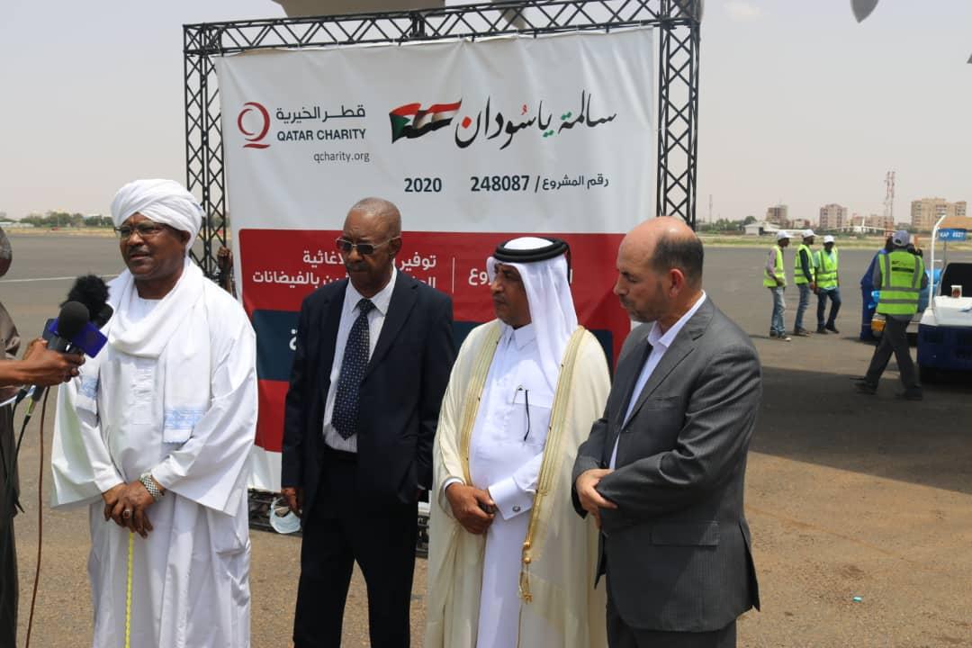 Third Qatari Aid Plane Arrives in Khartoum within