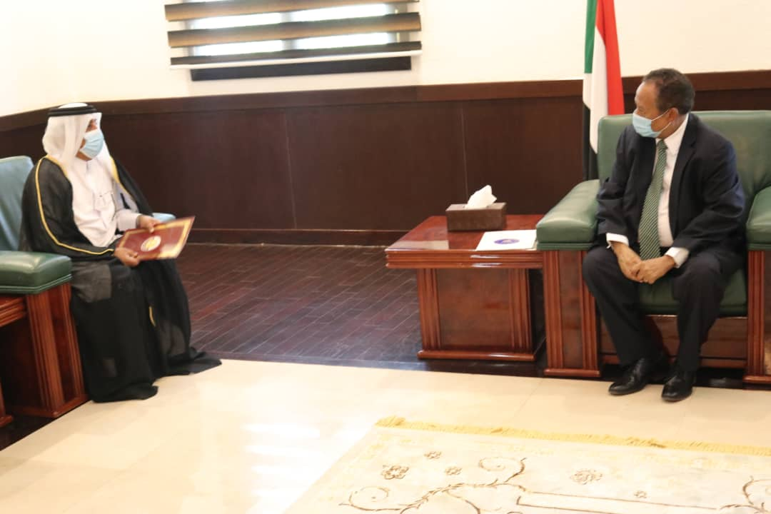 Prime Minister Sends Written Message to Sudanese Counterpart