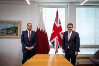 Deputy Prime Minister, Minister of Foreign Affairs Meets British Secretary of State for Business, Energy and Industrial Strategy