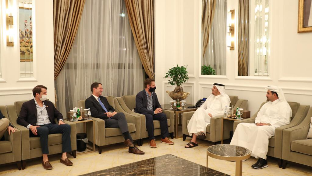 Deputy Prime Minister and Minister of Foreign Affairs Meets US Congress Members Delegation