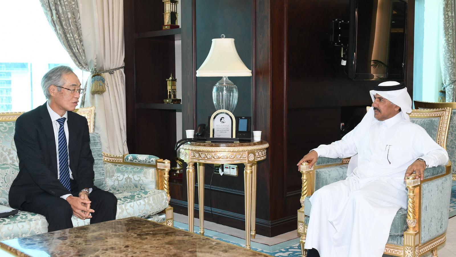 Deputy Prime Minister and Minister of Foreign Affairs Receives Message from Japanese Foreign Minister