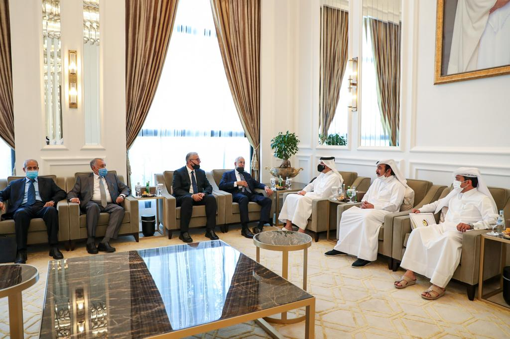 Deputy Prime Minister and Minister of Foreign Affairs Meets Libyan Foreign and Interior Ministers