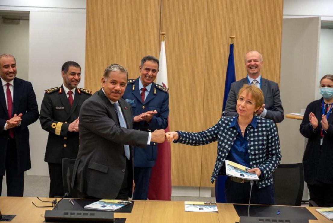 توقيع اتفاق لفتح مكاتب بعثة دولة قطر وممثليتها العسكرية بقيادة الناتو في بروكسل