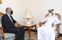 Minister of State for Foreign Affairs Meets Iranian Ambassador