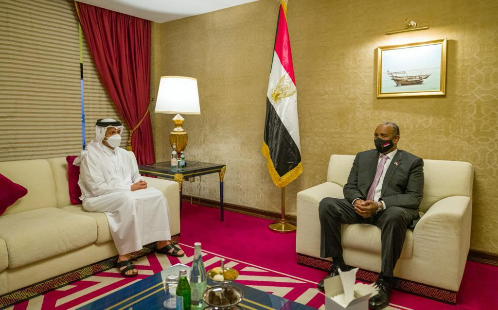 Chairman of Sudanese Sovereignty Council Meets Deputy Prime Minister and Minister of Foreign Affairs