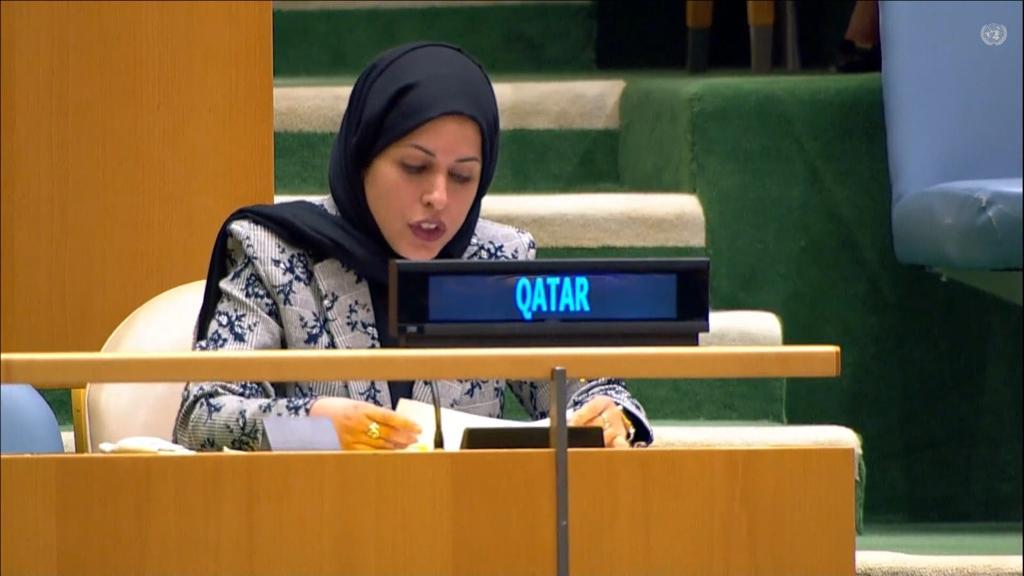 دولة قطر ترحب باهتمام مجلس الأمن الدولي والأمم المتحدة المتزايد لتعزيز السلام المستدام