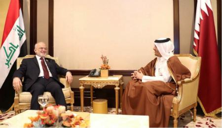 نائب رئيس مجلس الوزراء وزير الخارجية يجتمع مع عدد من المسؤولين على هامش اجتماع التحالف الدولي ضد داعش