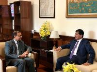 Foreign Ministry Secretary-General Meets Secretary in Indian Ministry of External Affairs