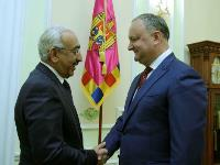 President of the Republic of Moldova Meets Qatari Ambassador