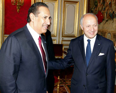 HE Prime Minister Meets French FM
