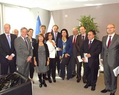 سعادة وزير الدولة للشؤون الخارجية يفتتح جمعية الصداقة القطرية - الأوروبية