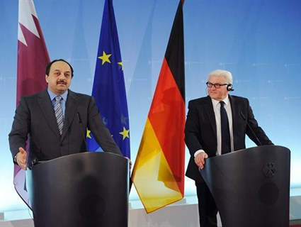 Foreign Minister Meets German Counterpart