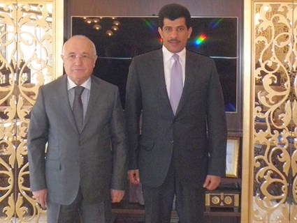 Speaker of Turkish Parliament Meets Qatari Ambassador