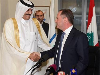 توقيع اتفاقية البروتوكول التنفيذي بين قطر و لبنان
