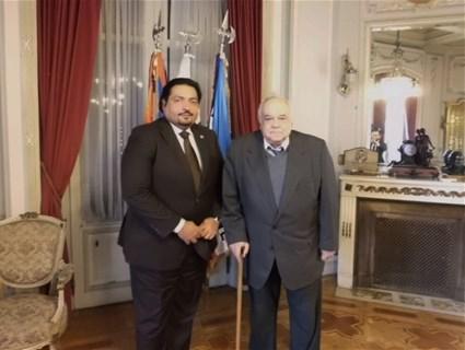 بحث العلاقات الثنائية بين دولة قطر و الأوروغواي