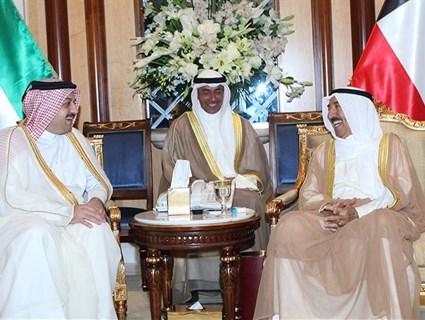 أمير الكويت يستقبل سعادة وزير الخارجية