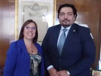Uruguay Public Health Minister Meets HE Qatari Ambassador