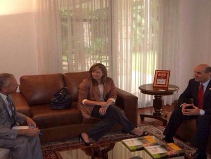 Paraguay Environment Minister Meets Qatari Ambassador