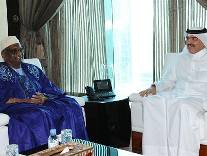 مساعد وزير الخارجية للشؤون الخارجية يجتمع مع المستشار الخاص لرئيس توغو