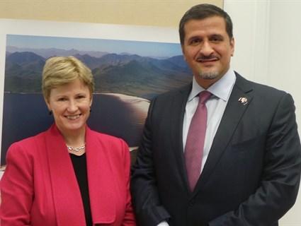 زعيم حزب الخضر الأسترالي يلتقي سفيرنا