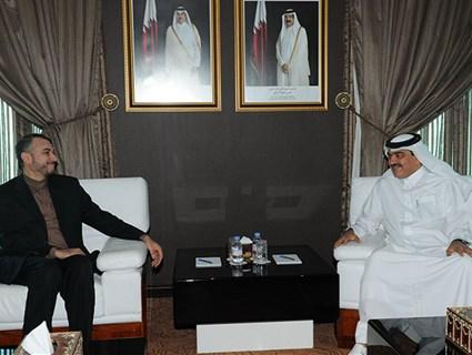 مساعد وزير الخارجية للشؤون الخارجية يلتقي مساعد وزير الخارجية الإيراني