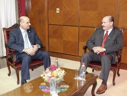 Paraguay Defence Minister Meets Qatari Ambassador