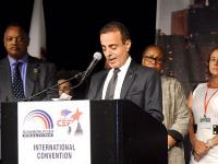 Qatar's Ambassador delivered a Speech at the 43rd Annual International Convention (Rainbow PUSH)