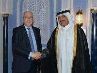 Assistant FM Holds Farewell Ceremony for Outgoing French Ambassador