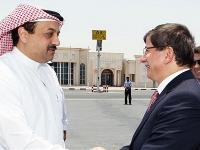 Turkish Foreign Minister Arrives in Qatar