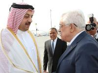 Palestinian President Arrives in Doha