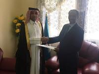 Somali Minister of Foreign Affairs Meets Charge D'affaires a.i. of Qatar's Embassy