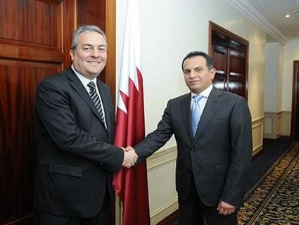 Qatar Ambassador Meets Argentinian Minister