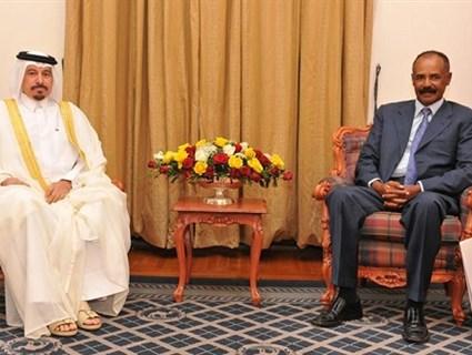 Eritrean President Receives Credentials of Qatari Ambassador
