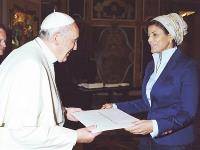 Pope Receives Credentials of Qatar's Ambassador