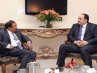 HE Foreign Minister Meets Indian National Security Adviser