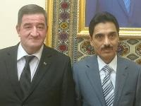 Qatar's Ambassador to Cyprus Meets Joint Business Association Chief