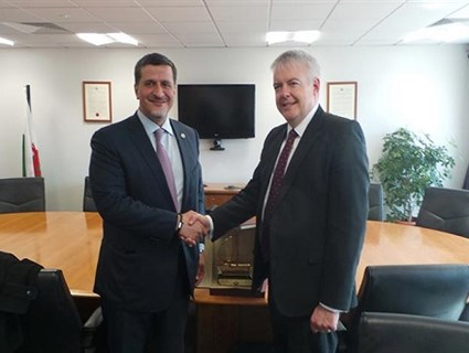 Wales First Minister Meets Qatari Ambassador