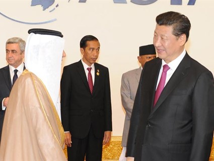 President of China Meets HE Deputy Prime Minister