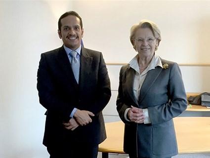 Qatari-Belgian Relations Discussed