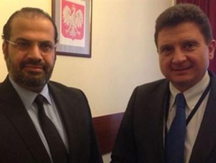 Polish Official Meets Qatari Ambassador