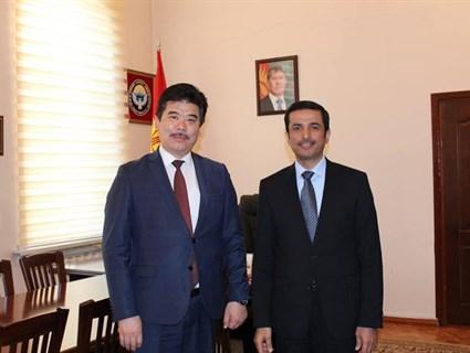Kyrgyz Minister of Culture Meets Qatar's Ambassador