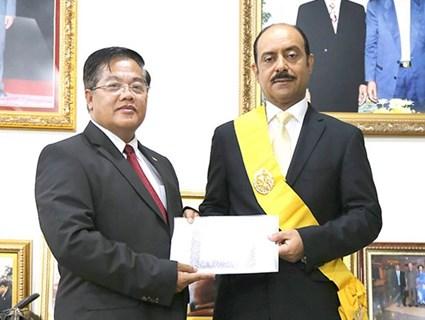 Cambodian Deputy Prime Minister Meets Qatari Ambassador