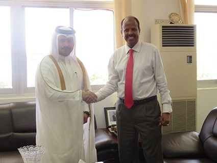 Djibouti Foreign Minister Receives Message from HE Foreign Minister