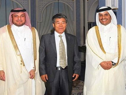 HE Foreign Minister's Assistant Holds Ceremony for Departing Chinese Ambassador