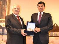 Turkish Defense Minister Visits Qatari Embassy
