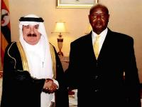 Uganda President Receives Credentials of Qatar's Ambassador