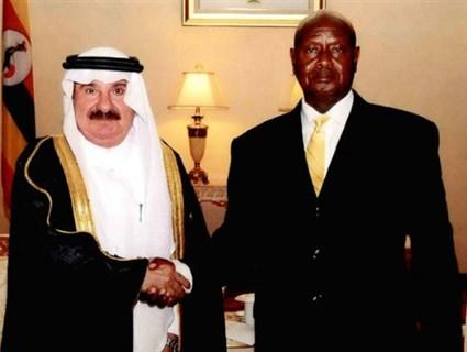 Uganda President Receives Credentials of Qatar's Ambassador